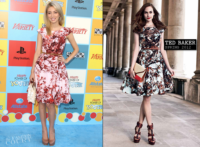 Christian Serratos in Ted Baker | Variety's Power Of Youth Event 2012