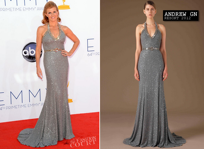 Connie Britton in Andrew Gn | 2012 Emmy Awards