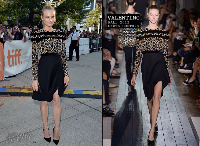 Diane Kruger in Valentino Couture | 'Inescapable' Premiere - 2012 Toronto International Film Festival