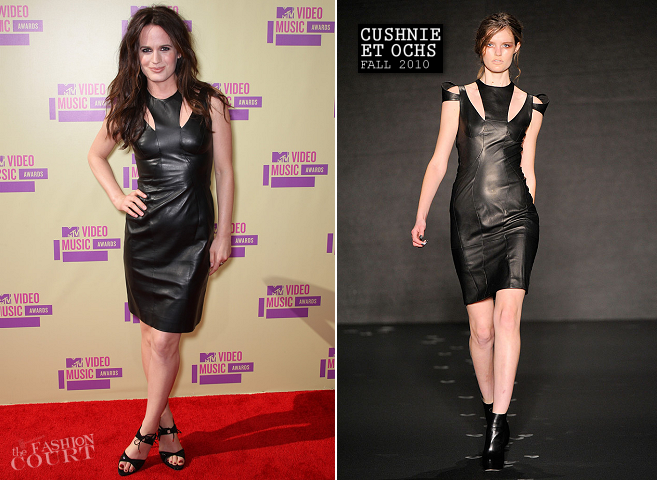 Elizabeth Reaser in Cushnie et Ochs | 2012 MTV Video Music Awards