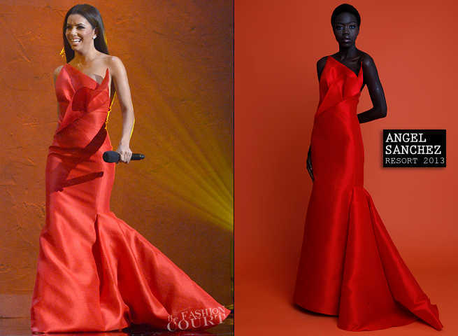 Eva Longoria in Angel Sanchez | 2012 NCLR ALMA Awards