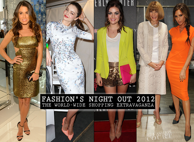 Fashion's Night Out 2012: Where Your Favorite Stars Were... and What They Wore!