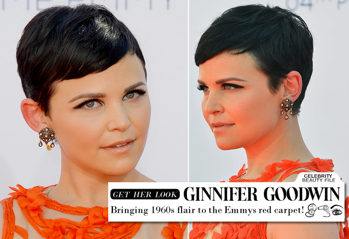 Emmy Beauty: Ginnifer Goodwin Brings the '60s Flair!