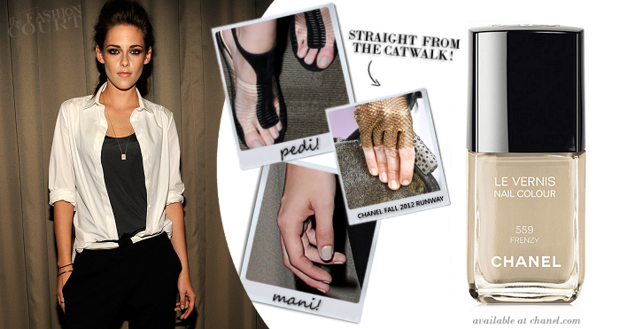 Get Her Look: KRISTEN STEWART - Dreadlocks, Smoky Eyes & Nude Nails, OH MY!