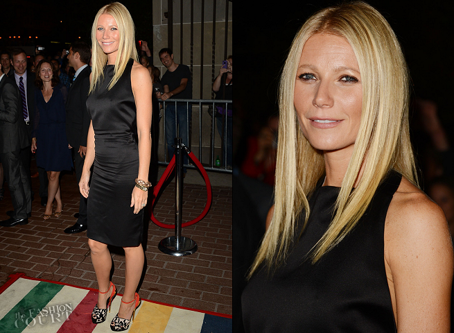 Gwyneth Paltrow in Tom Ford | 'Thanks For Sharing' Premiere - 2012 Toronto International Film Festival