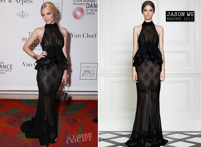 Jaime King in Jason Wu | L.A. Dance Project Opening Night Performance