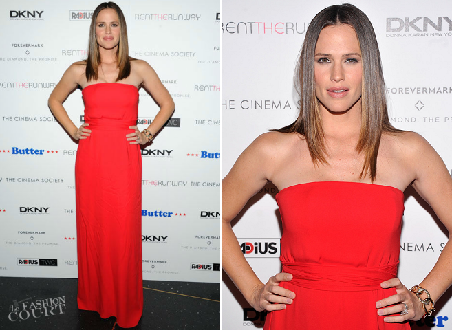 Jennifer Garner in Gucci | 'Butter' NYC Premiere