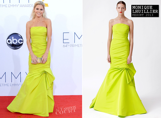 Julie Bowen in Monique Lhuillier | 2012 Emmy Awards