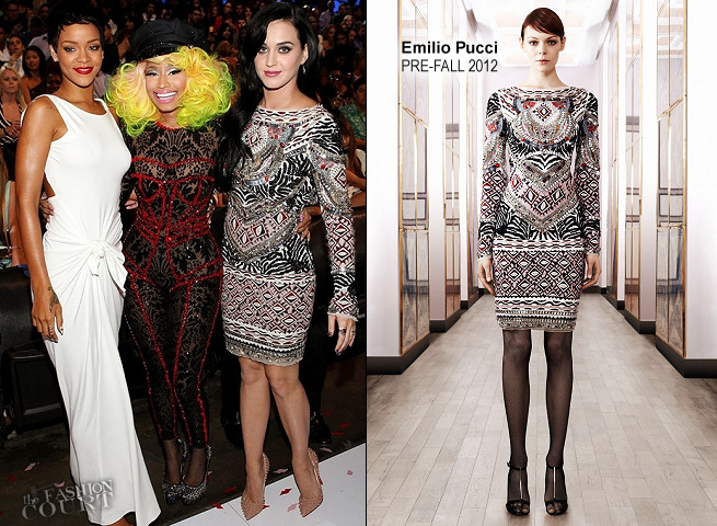 Katy Perry in Emilio Pucci | 2012 MTV Video Music Awards