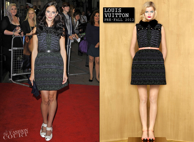 Kaya Scodelario in Louis Vuitton | 'Now Is Good' London Premiere