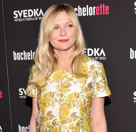 Kirsten Dunst in Stella McCartney   'Bachelorette' NY Premiere