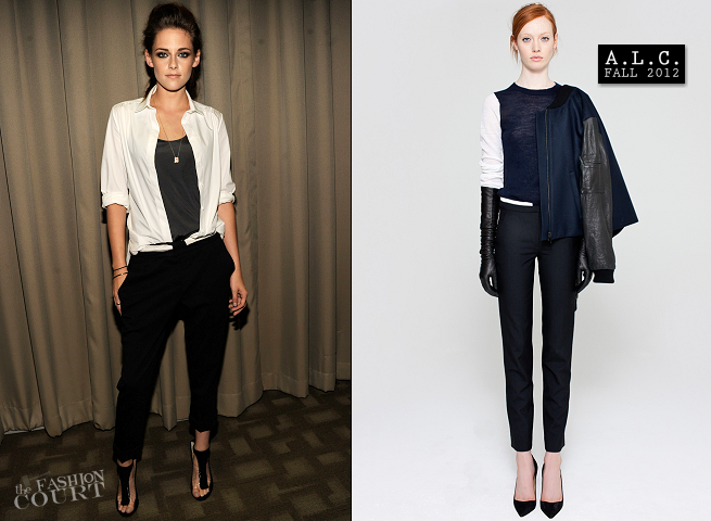 Kristen Stewart in Balenciaga & A.L.C. | 'On The Road' New York City Screening