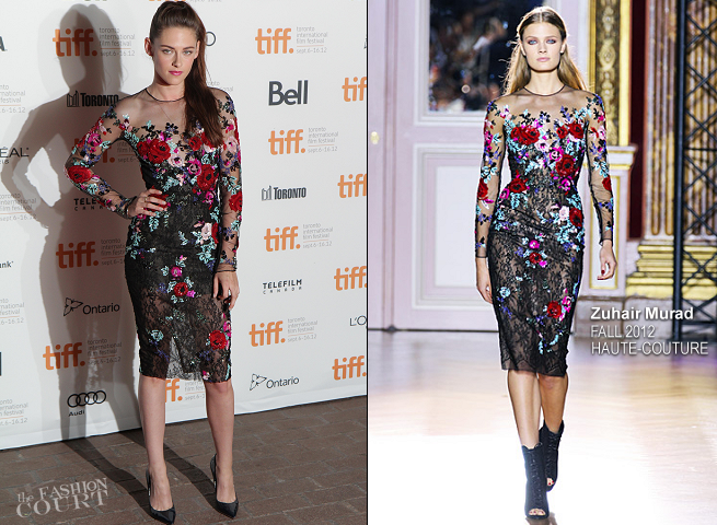 Kristen Stewart in Zuhair Murad Couture | 'On The Road' Premiere - 2012 Toronto International Film Festival