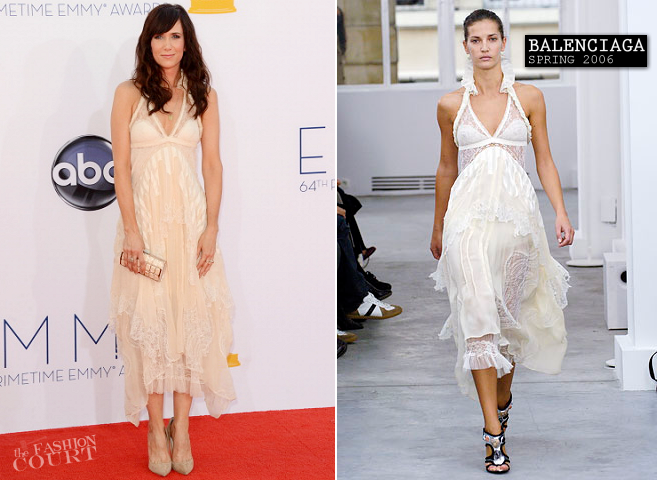 Kristen Wiig in Balenciaga | 2012 Emmy Awards