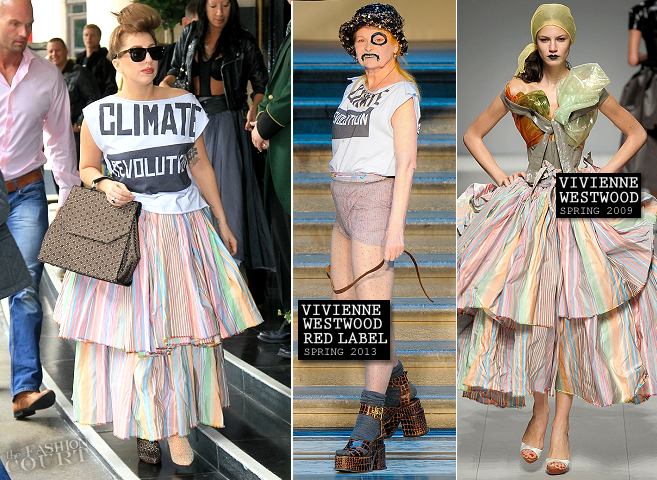 Lady Gaga in Vivienne Westwood | Dorchester Hotel in London