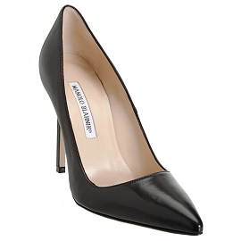 Manolo Blahnik BB Pointed-Toe Pumps