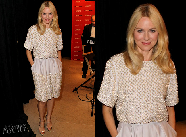 Naomi Watts in Stella McCartney | Variety Studio at Holt Renfrew - Day 1