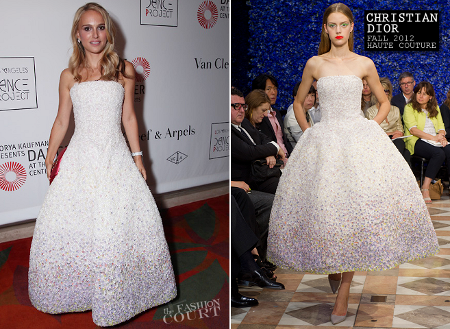 Natalie Portman in Christian Dior Couture | L.A. Dance Project Opening Night Performance