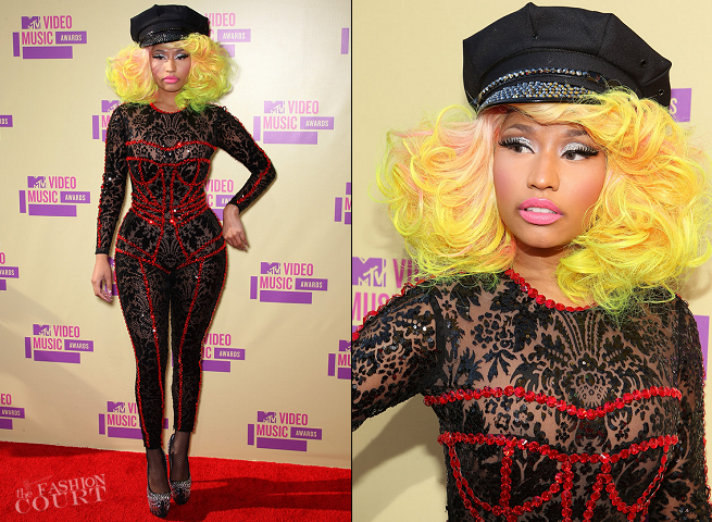 Nicki Minaj in Versace | 2012 MTV Video Music Awards