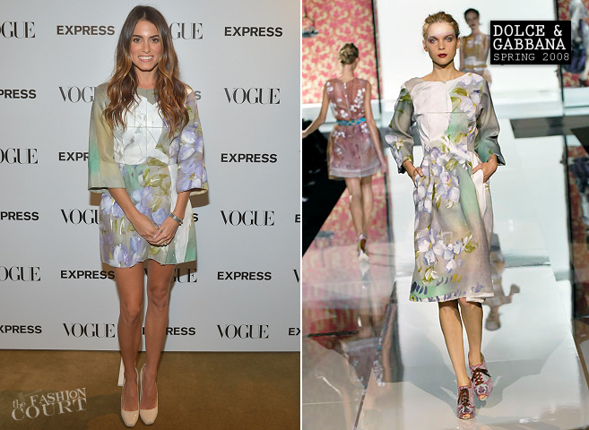 Nikki Reed in Dolce & Gabbana | Express & Vogue Celebrate 'The Scenemakers'