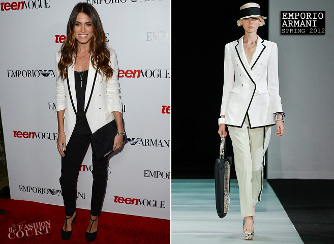 Nikki Reed in Emporio Armani | 10th Annual Teen Vogue Young Hollywood Party