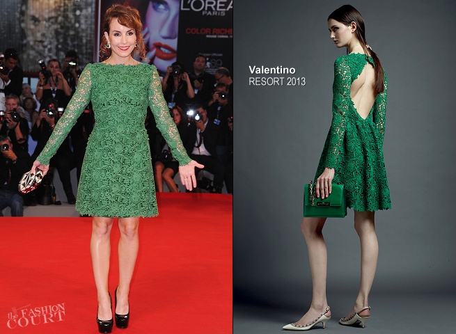 Noomi Rapace in Valentino | 'Passion' Premiere - 2012 Venice International Film Festival