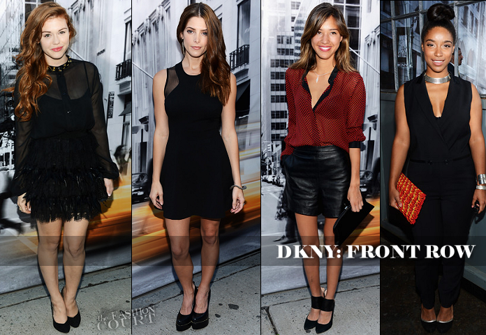 NYFW SS13 BEST DRESSED Poll: Front Row Trends