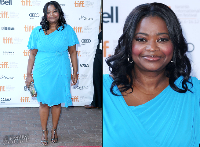 Octavia Spencer in Tadashi Shoji | 'Smashed' Premiere - 2012 Toronto International Film Festival