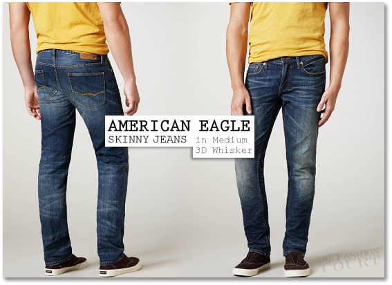 Blue Jean Way: Robert Pattinson Loves American Eagle Skinny Jeans!