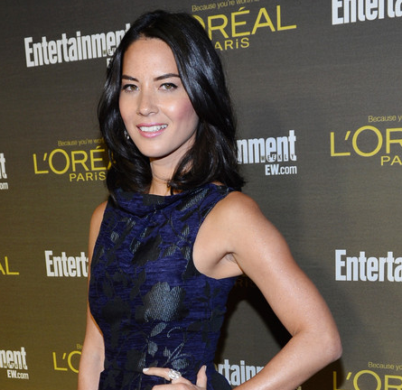 Olivia Munn in Emporio Armani | 2012 Entertainment Weekly Pre-Emmy Party