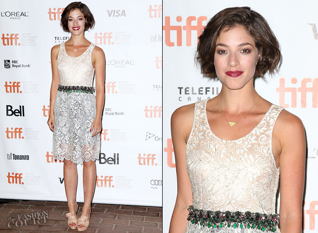 Olivia Thirlby in Balenciaga | 'DREDD 3D' Premiere - 2012 Toronto International Film Festival