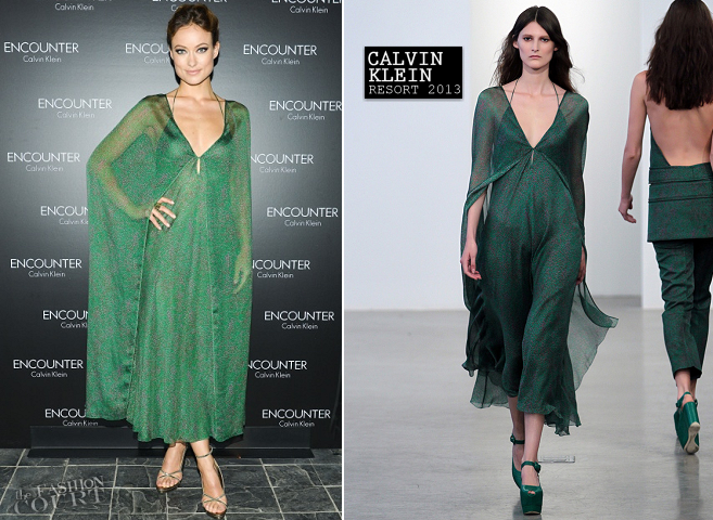 Olivia Wilde in Calvin Klein Collection | ENCOUNTER Calvin Klein Fragrance Launch