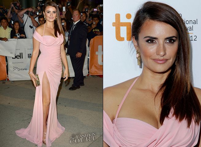 Penelope Cruz in Vintage Gianni Versace | 'Twice Born' Premiere - 2012 Toronto International Film Festival