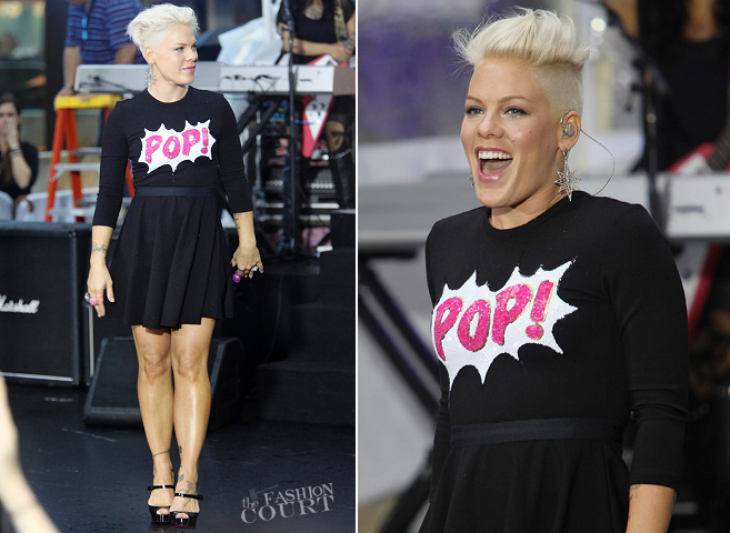 P!NK in Marks Lupfer | NBC's 'Today'
