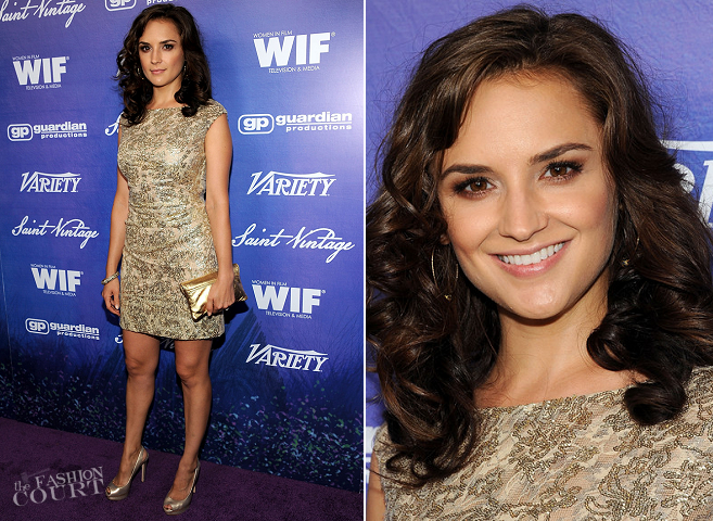 Rachael Leigh Cook in David Meister | Variety And Women In Film Pre-Emmy Event