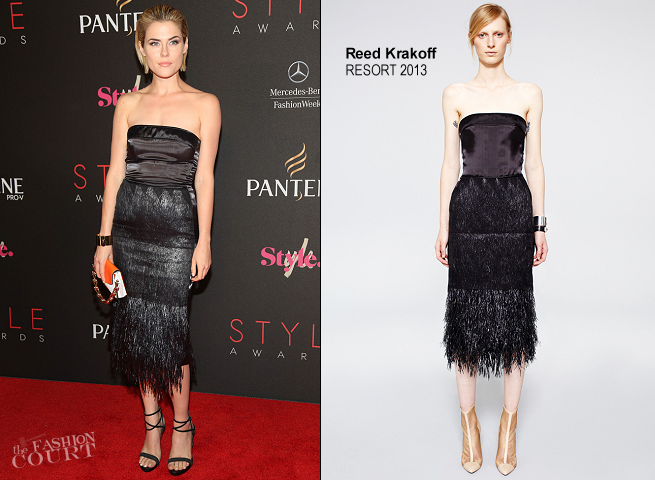 Rachael Taylor in Reed Krakoff | 2012 Style Awards