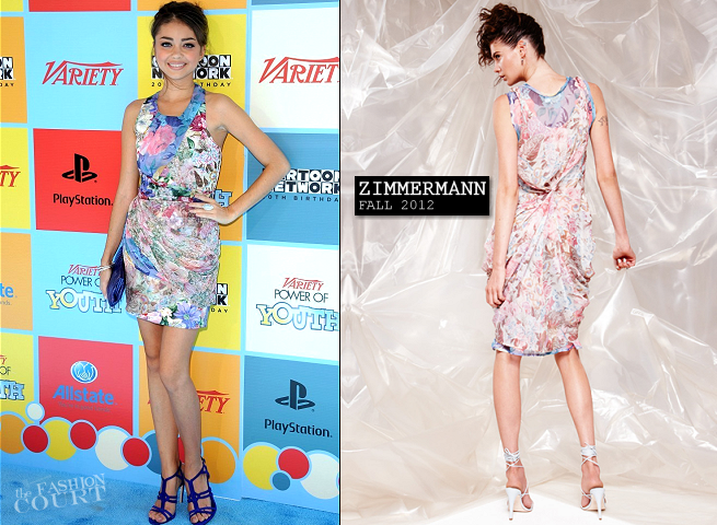 Sarah Hyland in Zimmermann | Variety's Power Of Youth Event 2012
