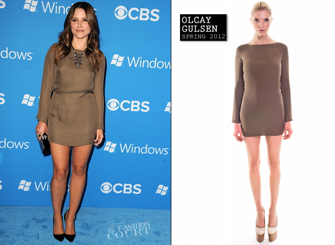 Sophia Bush in Olcay Gulsen | CBS 2012 Fall Premiere Party
