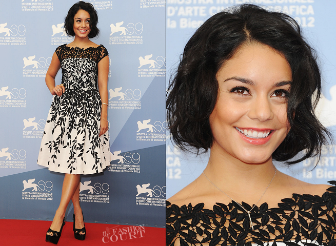Vanessa Hudgens in Blumarine | 'Spring Breakers' Photocall - 2012 Venice International Film Festival