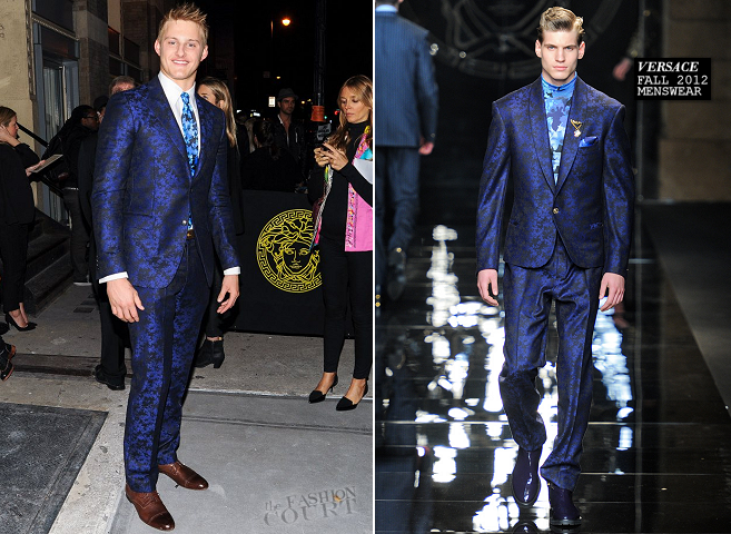 Alexander Ludwig in Versace | Versace Private Dinner
