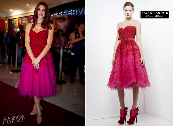 Ashley Greene in Zuhair Murad | 'The Twilight Saga: Breaking Dawn - Part 2' South Africa Fan Event
