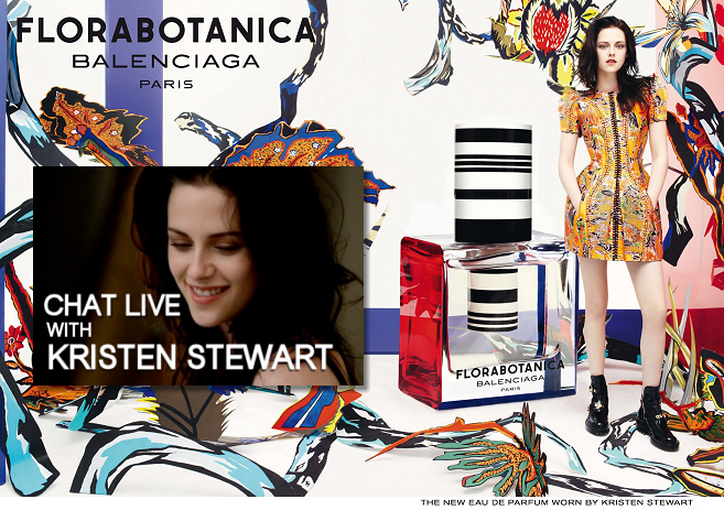Balenciaga's Live Interview with Kristen Stewart!