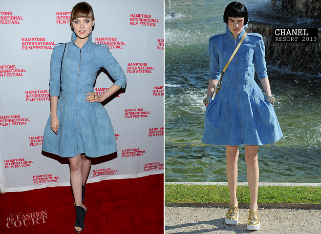 Bella Heathcote in Chanel | 'Not Fade Away' Screening - 2012 Hamptons International Film Festival