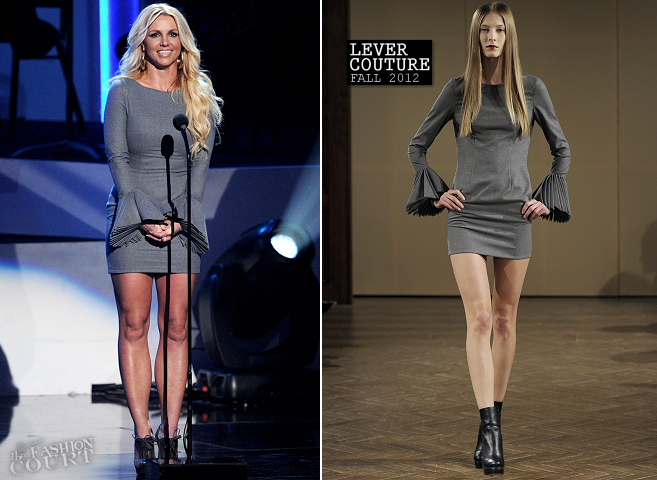 Britney Spears in Lever Couture | 'We Will Always Love You: A GRAMMY Salute to Whitney Houston'