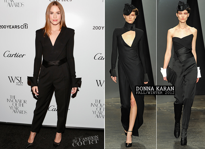 Christa B. Allen in Donna Karan | WSJ. Magazine 'Innovator Of The Year' Awards 2012