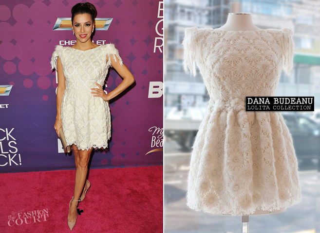 Eva Longoria in Dana Budeanu | 2012 Black Girls Rock!