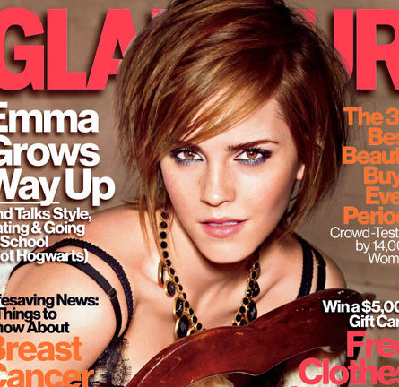 Emma Watson for the October Issue of GLAMOUR!