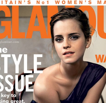 Emma Watson for the October Issue of British GLAMOUR!