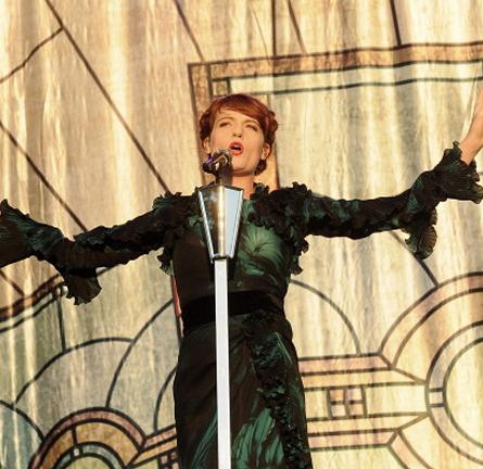 Florence Welch in Gucci | Austin City Limits Music Festival 2012