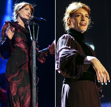 Florence Welch in Gucci | Florence + the Machine Concert Tour 2012